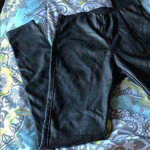H&M Vegan Leather Pants